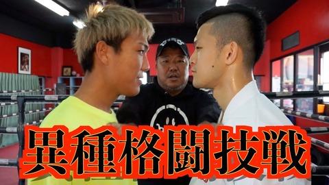 【動画】ボクシング亀田vs寸止め空手