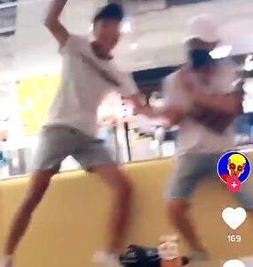 【悲報】若者が店内でダンスバトルする動画が流出wwwwww