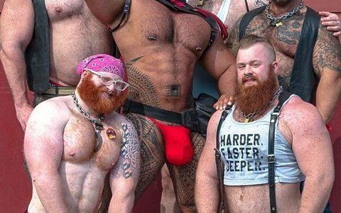 【悲報】熊系ゲイ集団、とんでもない肉体改造を施してしまう
