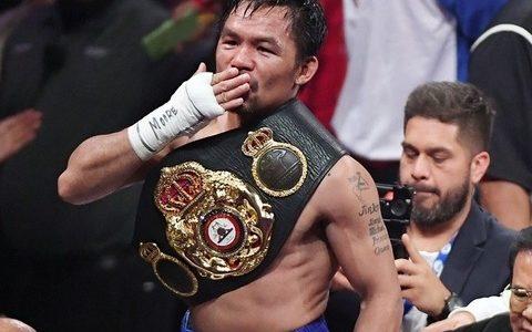 ボクシング王者パッキャオ、総合格闘技のマクレガー と対戦へ