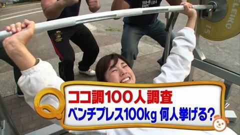 おまえら筋トレしてる奴ってベンチプレスで100kgぐらいは挙げられるの?