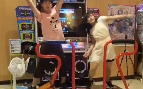 【衝撃】ダンスゲーム世界チャンピオンになった日本人夫婦のダンスをごらんくださいwwwwww
