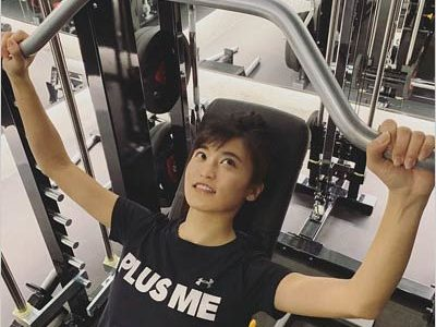 【悲報】小島瑠璃子さん激太り 筋トレのし過ぎか