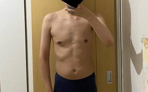 ヒョロガリぼく、筋トレ開始から3ヶ月が経過した結果…