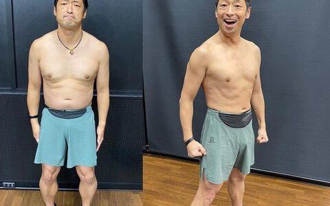 安田大サーカス・団長安田、2か月で10キロダイエット成功し細マッチョに変身 ビフォーアフター公開