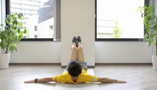 足を左右に振るだけ!腰肉を落とすダイエット筋トレ「ヒップロール」
