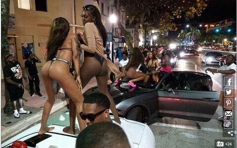 【悲報】米マイアミビーチでえちえち半裸になった陽キャが大暴れ、警察が出動wwywwywwywwyww