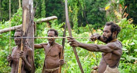 パプアニューギニア人の筋肉wwwwwwwwww
