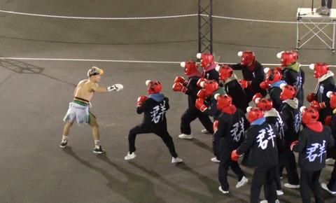 那須川天心VS30人、見た?やっぱり素人は何十人集まっても格闘家には勝てないんだね