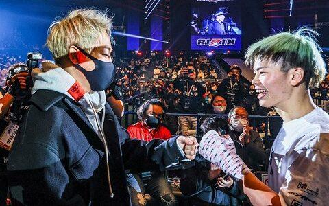 武尊がボクシング転向の那須川天心にエール。そして「立ち技での最強は僕ということを証明する。それからボクシングに行ってほしい」