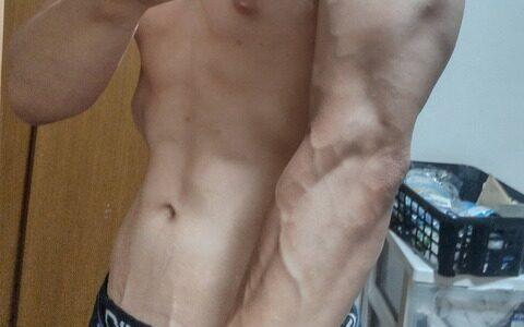 ワイ筋トレ1年目の腕周りを評価してくれwwwww