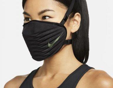ナイキから初のマスク登場、価格は約6,000円。スポーツ向け、3D構造デザインで息もしやすく
