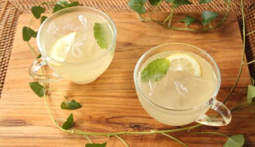 疲労回復や熱中症予防に。専門家オススメの水分補給ドリンクレシピ